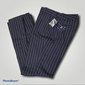 Tommy Hilfiger Pinstripe Trousers NWT